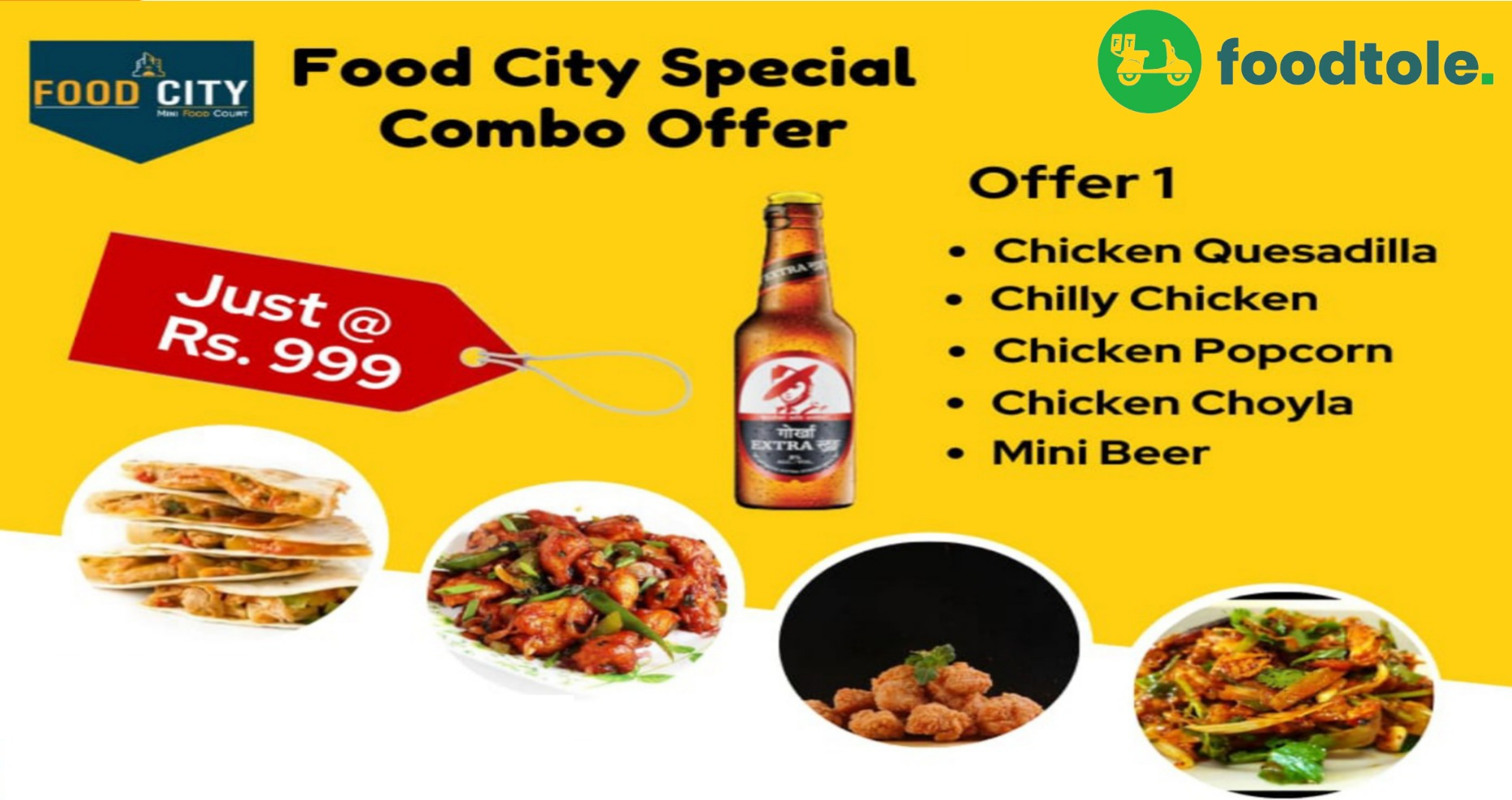 999 combo offer foodcity